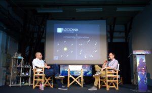 23.09.2016., Rovinj - Weekend media festival 9. Blockchain - ubojica birokracije. Nikola Jokic, Milovan Pasini. Photo: Slavko Midzor/PIXSELL