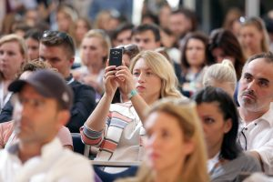 23.09.2016., Rovinj - 9. Weekend Media Festival 2016. New Media and Social Movements – How the Internet Has Changed Popular Mobilizing. Srdja Popovic. Photo: Luka Stanzl/PIXSELL