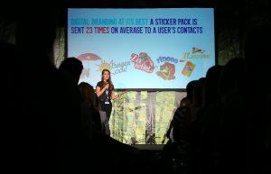 23.09.2016., Rovinj - Weekend Media Festival 9. Predavanje: Sticker Your Brand and Let the People Talk - Daniela Ivanova (Viber, CEE) Photo: Jurica Galoic/PIXSELL