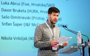 23.09.2016., Rovinj - Weekend Media Festival 9. Panel diskusija: Balcannes Export Report - Luka Abrus (Five, Hrvatska/SAD) Davor Bruketa (HURA, Hrvatska) Sašo Dimitrievski (Pristop, Slovenija) Srdan Šaper (I&F McCann Grupa, Srbija) Moderator: Nikola Vrdoljak (404, Hrvatska) Photo: Jurica Galoic/PIXSELL